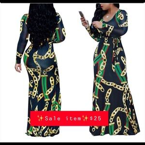 Dresses & Skirts - ‼️SALE NWOT Women's Sexy V-neck Floral Maxi Dress